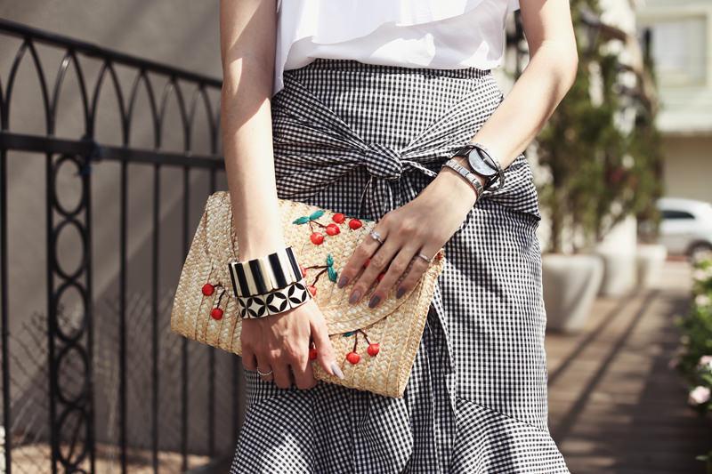 FashionCoolture 17.08.2017 look du jour Shoulder vichy 4 - As 5 principais tendências para o verão 2018
